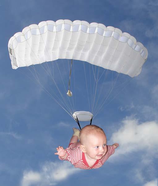 Leilani skydiving